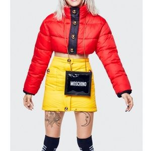 H&M Jackets & Coats - NWT H&M x Moschino Red Padded Jacket